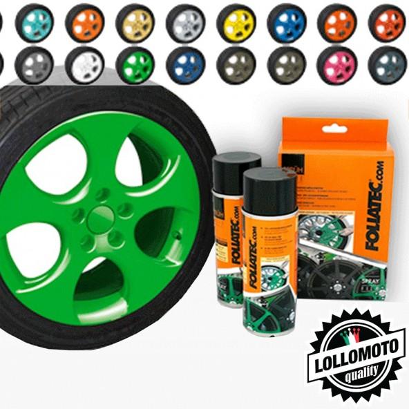 Verde Lucido Bomboletta Spray Foliatec Vernice Rimovibile Pellicola Wrapping