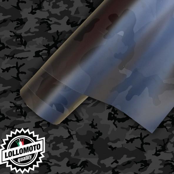 Mimetico Black Edition Camouflage Pellicola Car Wrapping
