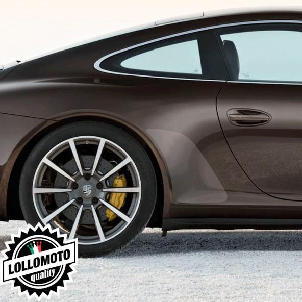 Kit 2 pz Pellicole Adesive Porsche Carrera 4S 05-11 Trasparenti