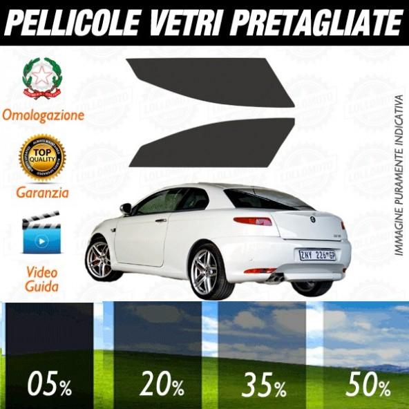 Alfa Romeo GT 3P dal 2004 Pellicole Oscuramento Vetri Anteriori