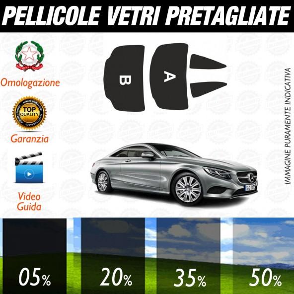 Mercedes Classe C Coupè dal 2016 ad OGGI Pellicole Oscuramento Vetri Auto Pre Tagliate a Misura Posteriore