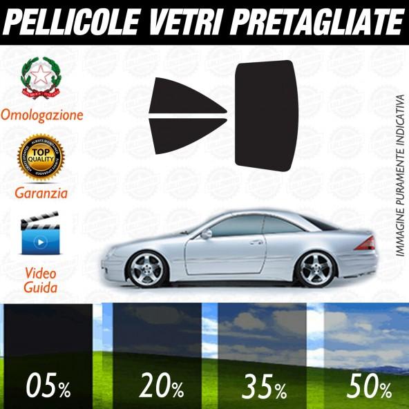 Mercedes Classe CL Coupé dal 2001 al 2006 Pellicole Oscuramento Vetri Auto Pre Tagliate a Misura Posteriore