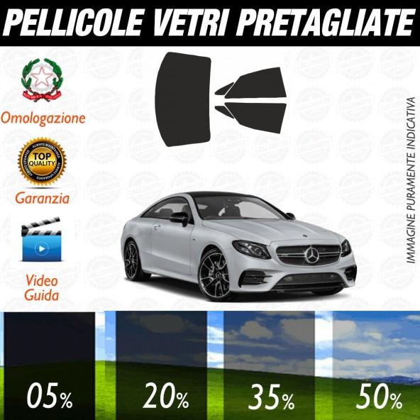 Mercedes Classe E Coupé dal 2018 ad OGGI Pellicole Oscuramento Vetri Auto Pre Tagliate a Misura Posteriore