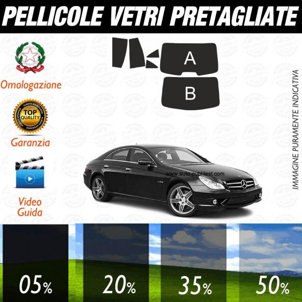 Mercedes CLS dal 2004 al 2006 Pellicole Oscuramento Vetri Auto Pre Tagliate a Misura Posteriore