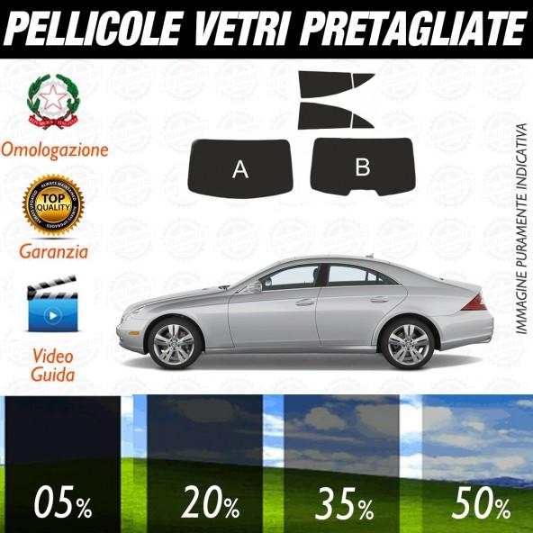 Mercedes CLS dal 2008 al 2011 Pellicole Oscuramento Vetri Auto Pre Tagliate a Misura Posteriore