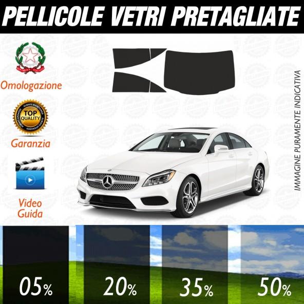 Mercedes CLS dal 2012 al 2017 Pellicole Oscuramento Vetri Auto Pre Tagliate a Misura Posteriore