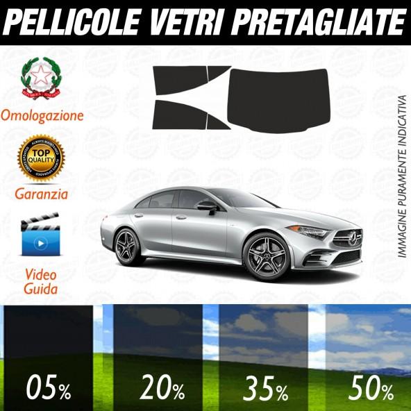 Mercedes CLS dal 2018 ad OGGI Pellicole Oscuramento Vetri Auto Pre Tagliate a Misura Posteriore