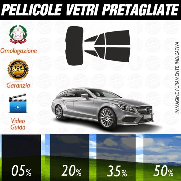 Mercedes CLS Shooting Brake dal 2013 al 2016 Pellicole Oscuramento Vetri Auto Pre Tagliate a Misura Posteriore