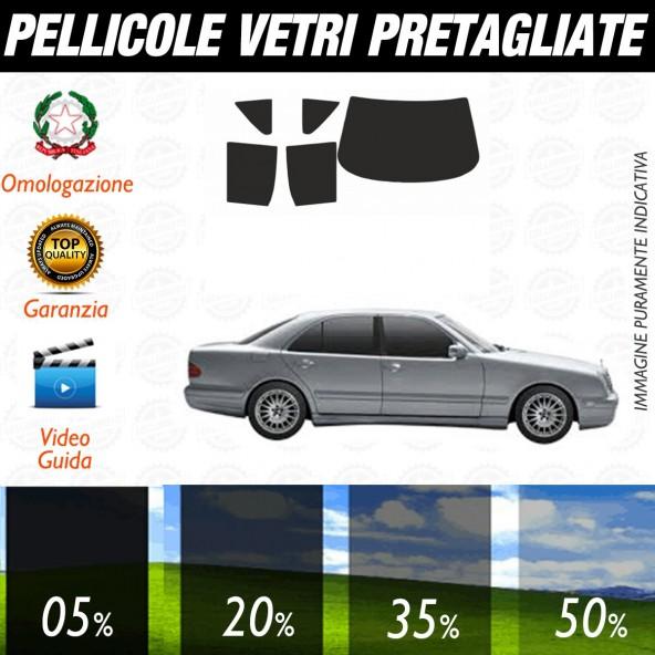 Mercedes Classe E Berlina dal 1995 al 2002 Pellicole Oscuramento Vetri Auto Pre Tagliate a Misura Posteriore