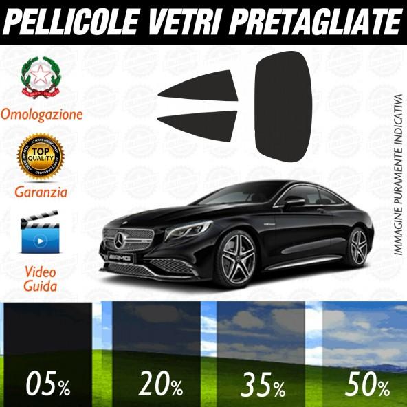 Mercedes Classe S Coupé dal 2014 al 2016 Pellicole Oscuramento Vetri Auto Pre Tagliate a Misura Posteriore