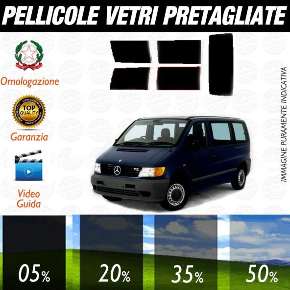 Mercedes Vito MPV dal 1996 al 2003 Pellicole Oscuramento Vetri Auto Pre Tagliate a Misura Posteriore