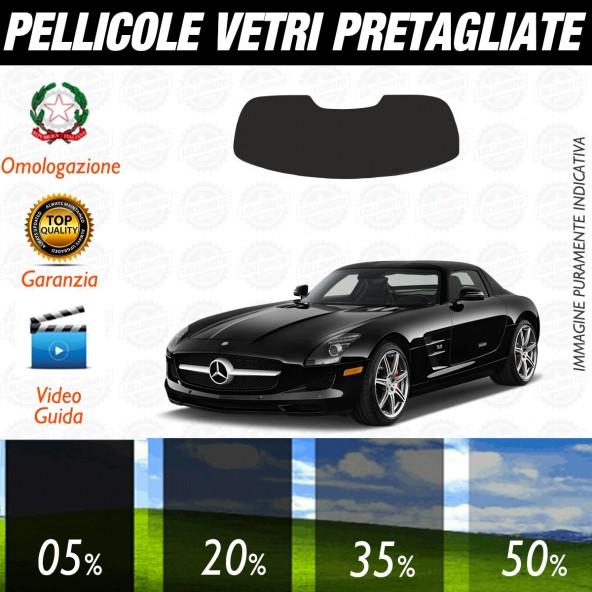 Mercedes SLS  dal 2011 al 2016 Pellicole Oscuramento Vetri Auto Pre Tagliate a Misura Posteriore