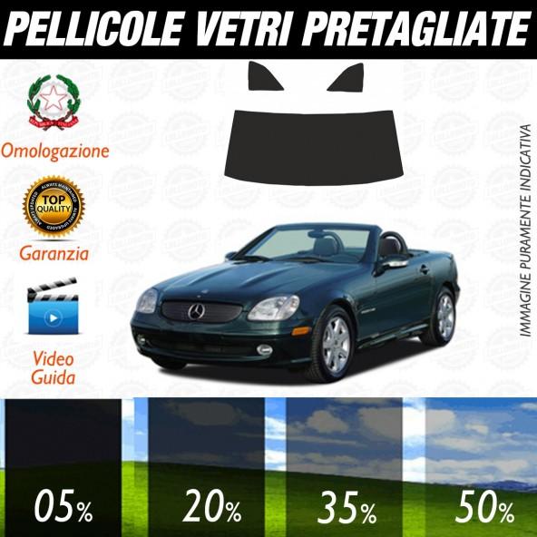 Mercedes SLK dal 1996 al 2004 Pellicole Oscuramento Vetri Auto Pre Tagliate a Misura Posteriore