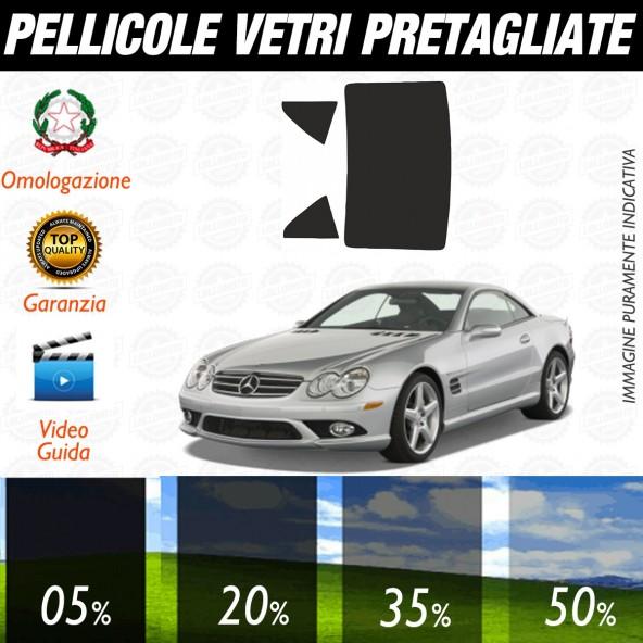 Mercedes SL 55 Coupé  dal 2002 al 2006 Pellicole Oscuramento Vetri Auto Pre Tagliate a Misura Posteriore