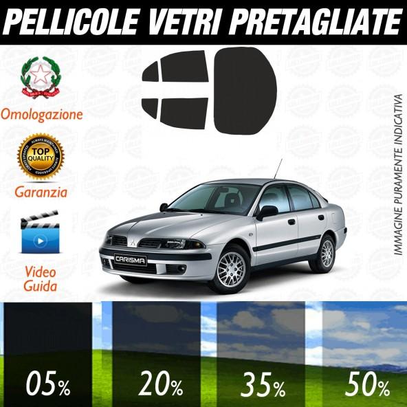 Mitsubishi Carisma dal 1995 al 2003 Pellicole Oscuramento Vetri Auto Pre Tagliate a Misura Posteriore