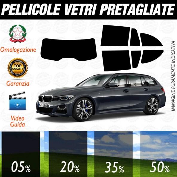 BMW Serie 3 Touring dal 2020 ad OGGI Pellicole Oscuramento Vetri Auto Pre Tagliate a Misura