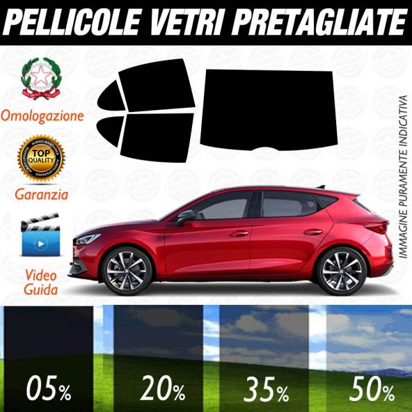 Seat Leon 5pt dal 2020 in poi Pellicole Oscuramento Vetri Auto Pre Tagliate a Misura