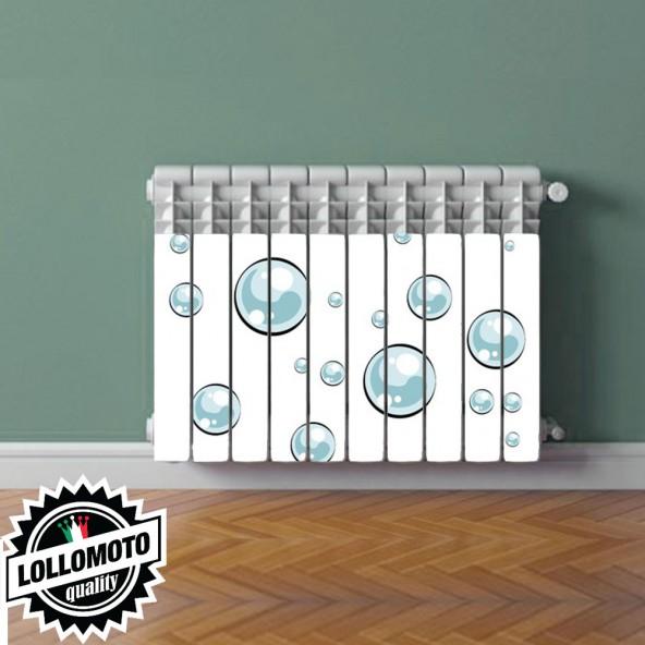 Termosifone BOLLE DI SAPONE Rivestimento Adesivo Laminato Stickers Termosifone Wrapping Interior Design