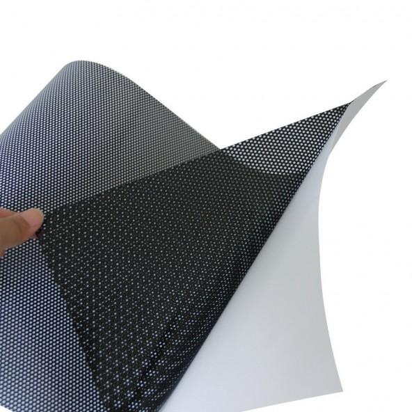 100x100cm Pellicola per Fanali e Fari Auto Traforata Car Wrapping Oscuramento Fanali
