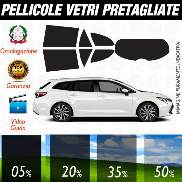 TOYOTA COROLLA TOURING SPORTS DAL 2019 AD OGGI  Pellicole Oscuramento Vetri Posteriori Auto Pre Tagliate a Misura