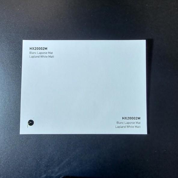 HEXIS SKINTAC HX20000 LAPLAND WHITE MATT FILM CAST PELLICOLA CAR WRAPPING PROFESSIONALE