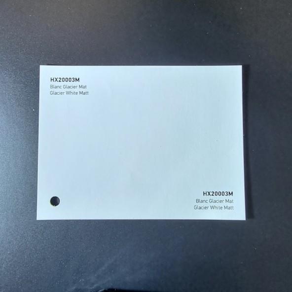 HEXIS SKINTAC HX20000 GLACIER WHITE MATT FILM CAST PELLICOLA CAR WRAPPING PROFESSIONALE