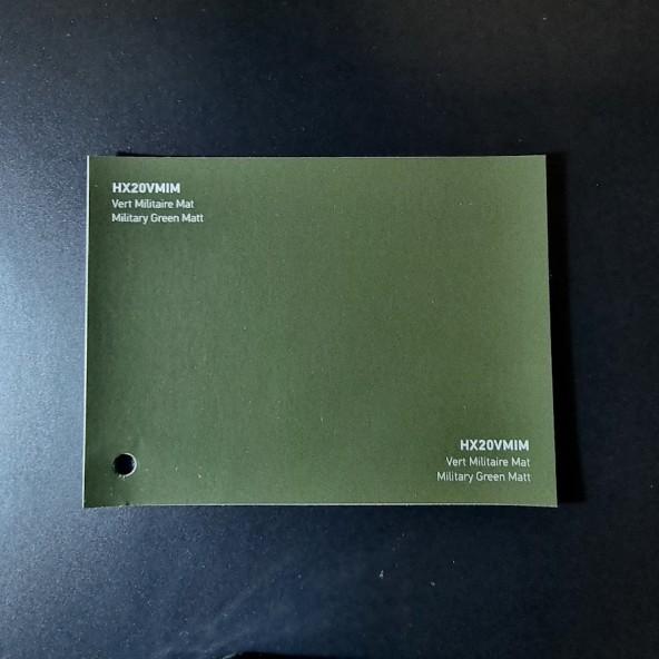 HEXIS SKINTAC HX20000 MILITARY GREEN MATT FILM CAST PELLICOLA CAR WRAPPING PROFESSIONALE