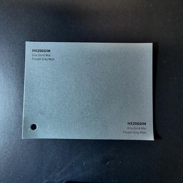 HEXIS SKINTAC HX20000 FROZEN GREY MATT FILM CAST PELLICOLA CAR WRAPPING PROFESSIONALE