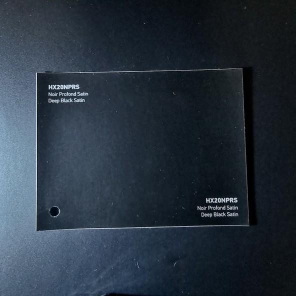 HEXIS SKINTAC HX20000 DEEP BLACK SATIN FILM CAST PELLICOLA CAR WRAPPING PROFESSIONALE