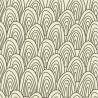 Carta da Parati Ondine Marroni Fondo Beige Interior Design