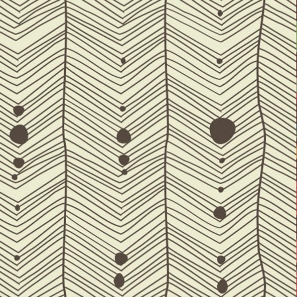 Carta da Parati Spina di Pesce Fondo Beige Interior Design