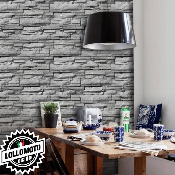 Carta da Parati Pietre Interior Design Arredamento Personalizzato Wall Paper