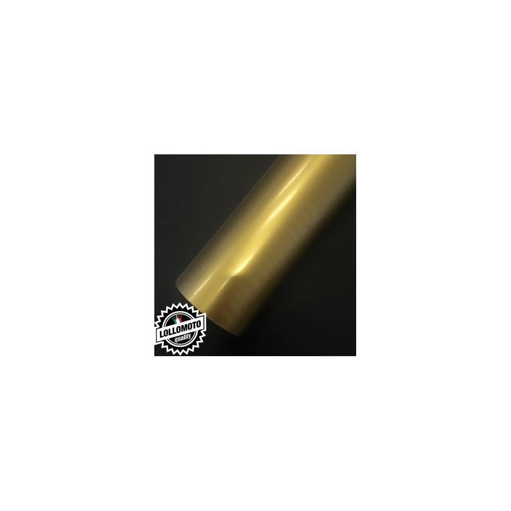Pellicola Oro Adesiva Rivestimento Auto Car Wrapping
