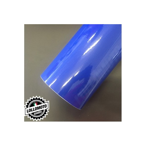 Blu Lucido Pellicole Adesiva Rivestimento Auto Car Wrapping