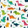 Carta da Parati Camera Bambini Dinosauri Interior Design