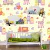 Carta da Parati Camera Bambini Trenino Interior Design