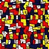 Carta da Parati Case Multicolori Interior Design Arredamento