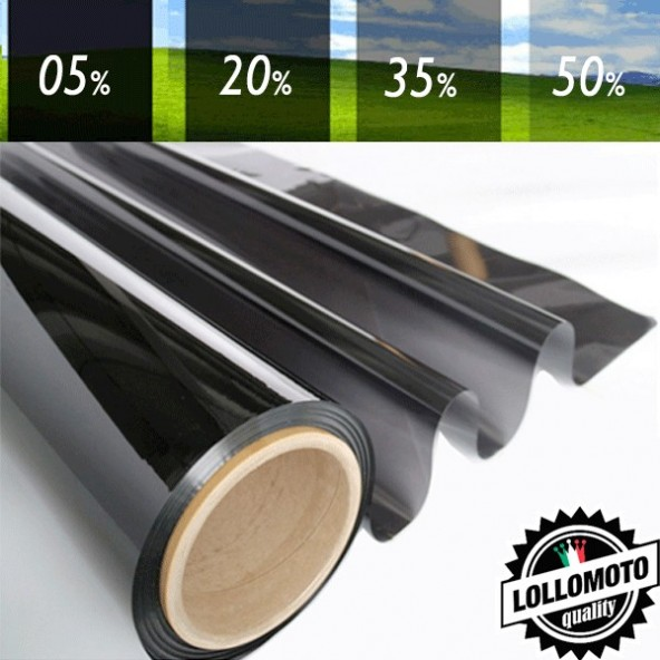 05% Pellicola Oscuramento Vetri Auto Professionale Rotolo
