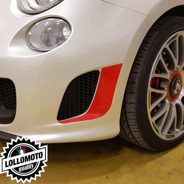 Adesivi Fiat 500 Abarth Prese d' aria Paraurti Anteriore