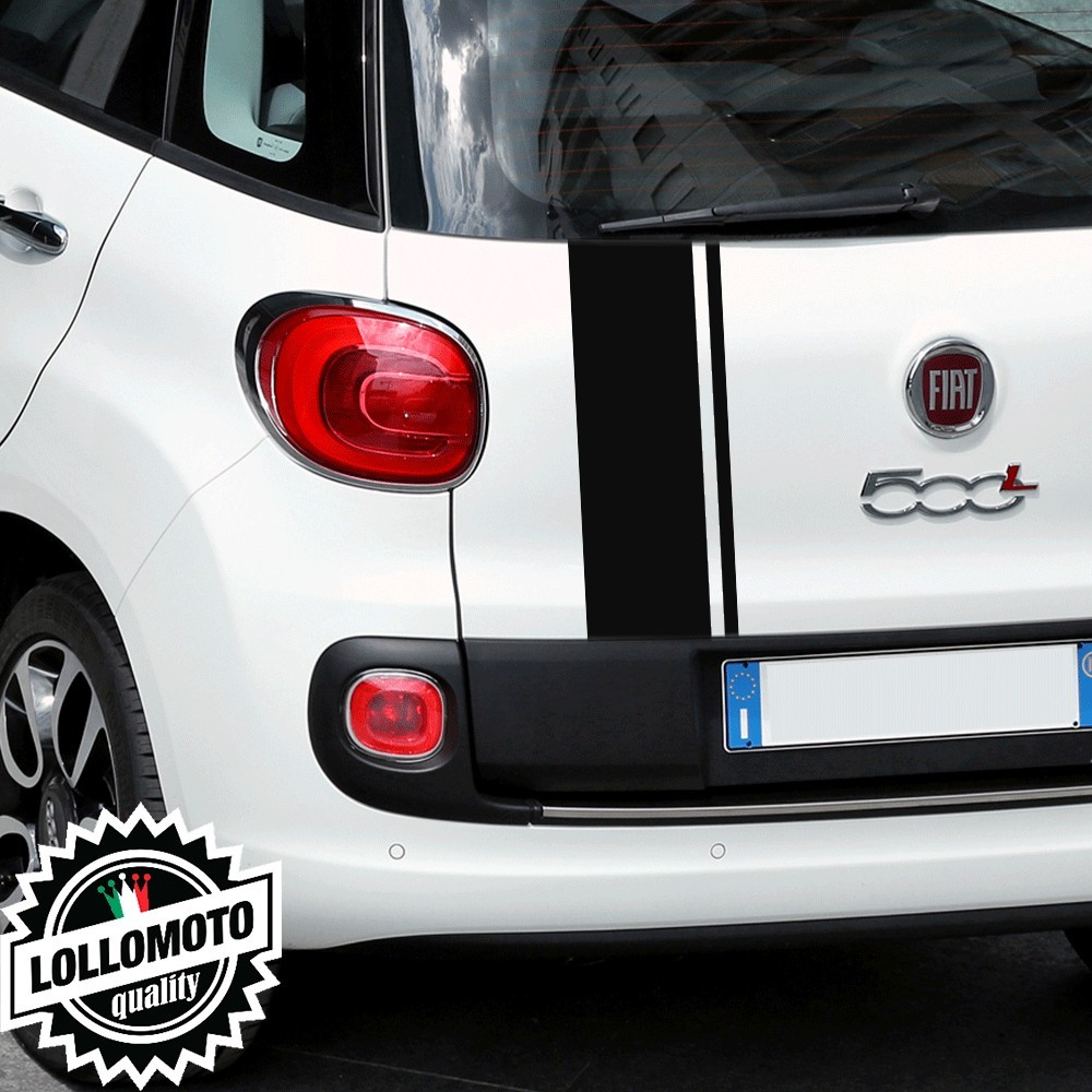 Striscia Adesiva Portellone Fiat 500 L Bonnet Stripes Decal