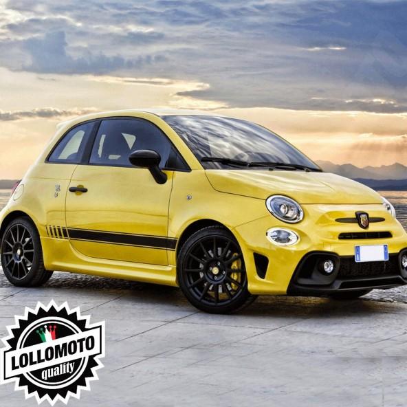 Strisce Abarth Mod59 Fiat 500 Adesivi Stickers Fiancate Auto Strip Decal