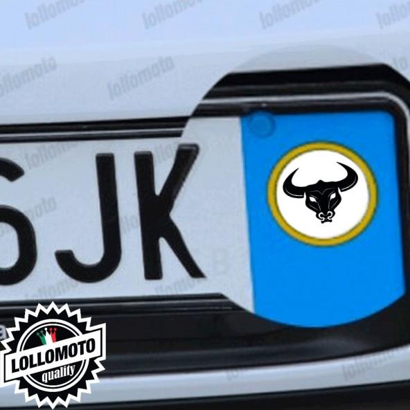2x Adesivi Logo Toro Emblema Targa per Seat Auto Stickers Decal