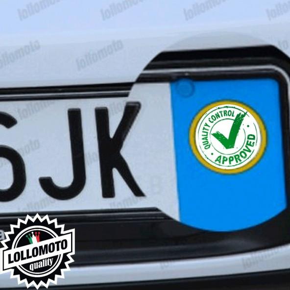 2x Adesivi Quality Logo Targa per Toyota Auto Stickers Decal