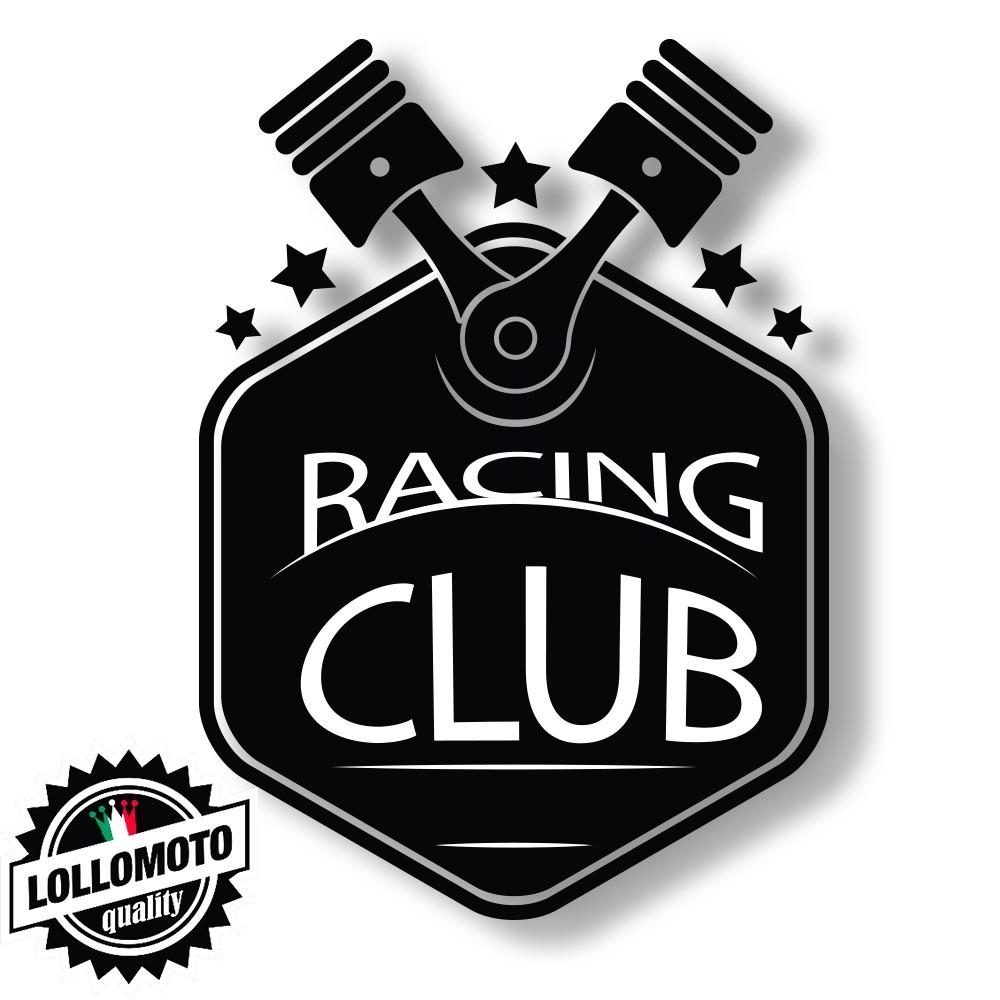 Adesivo Racing Club Intagliato Stickers Decal Altissima Qualità