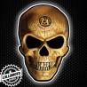 Adesivo Skull Teschio Auto e Moto Decal JDM Tuning