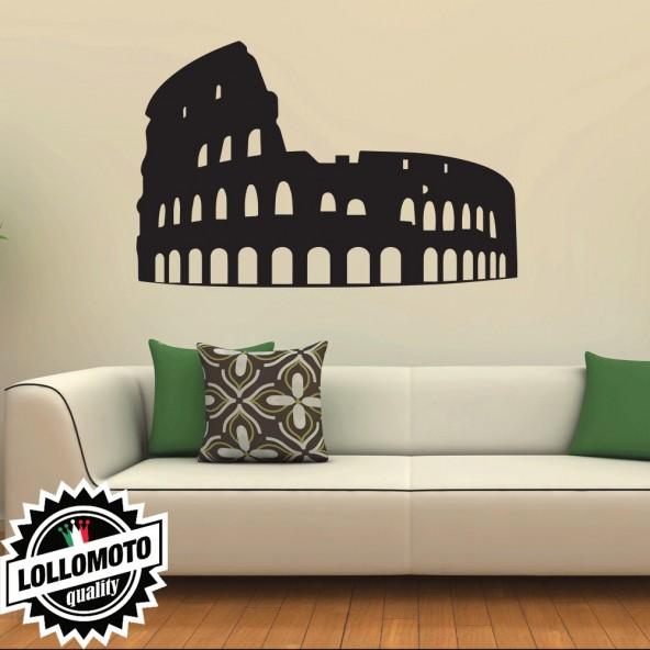 Colosseo Roma Wall Stickers Adesivo Murale Arredamento da Muro Interior Design