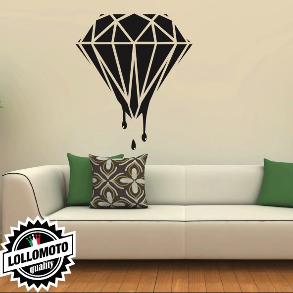 Adesivo Murale Diamante Wall Stickers Arredamento da Muro Interior Design