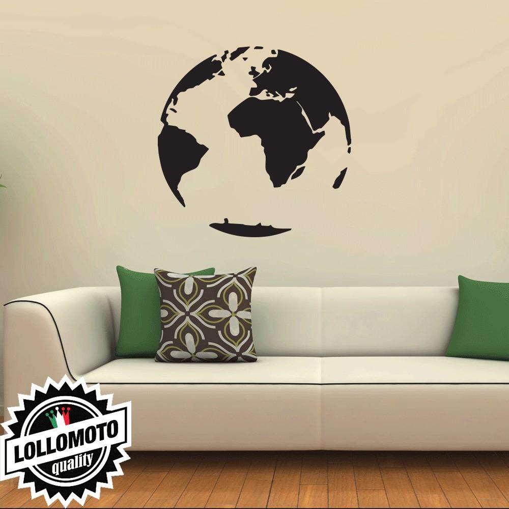 Adesivo Murale Mondo Arredamento da Muro Interior Design