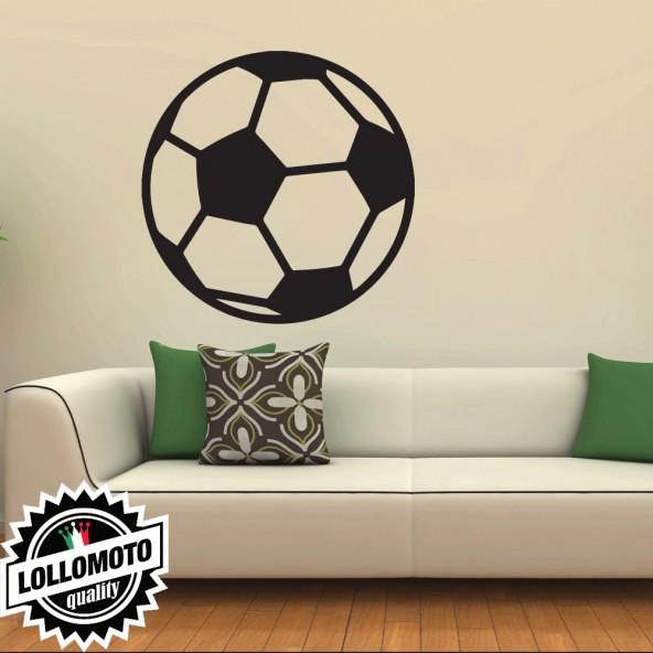 Adesivo Murale Pallone Calcio Wall Stickers Arredamento da Muro Interior Design