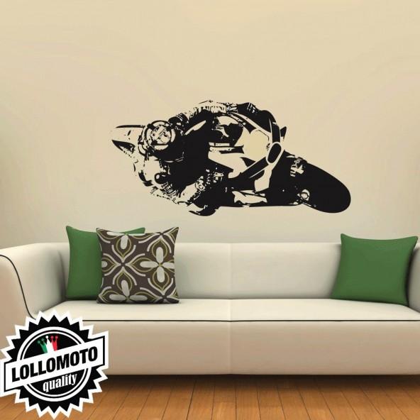 Iannone Andrea Ducati Wall Stickers Adesivo Murale Arredamento da Muro Interior Design